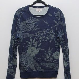 Jcrew / Wallace and Barnes Floral Sweater